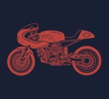 Vintage Cafe Racer Orange by superleggera