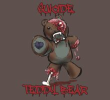 Suicide Teddy Bear by laughattack
