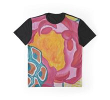 Peonies and Lotus Seed Pods 1 Graphic T-Shirt