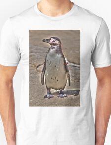 Gold Star Penguin Unisex T-Shirt