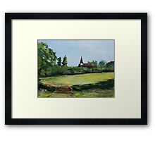 Belvue Park Northolt London England Framed Print