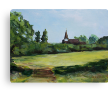 Belvue Park Northolt London England Canvas Print