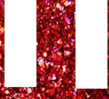 Sparkly IU Sticker