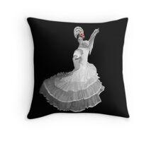 SPANISH DANCER THROW PILLOW Throw Pillow