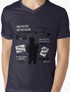 Lui Calibre Quotes Mens V-Neck T-Shirt