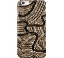 Sepia Maze iPhone Case/Skin