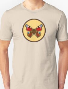Admiral Butterfly - Cross Stitch style T-Shirt