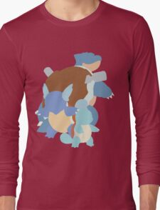 Squirtle Evolution Long Sleeve T-Shirt