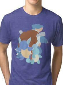 Squirtle Evolution Tri-blend T-Shirt