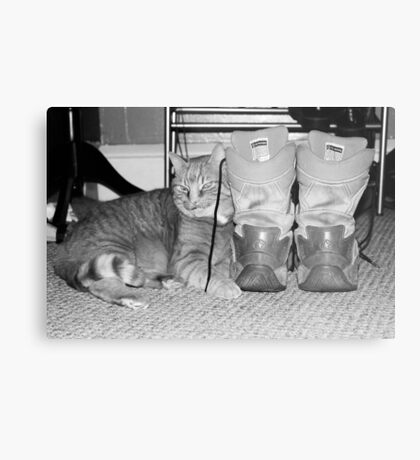 Army Boots Metal Print
