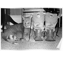 Army Boots Poster