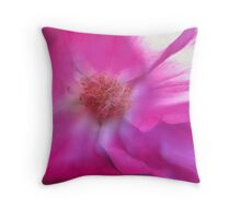 blured lines Throw Pillow