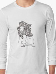 Mandala - Steven Universe - Lion Long Sleeve T-Shirt