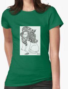 Mandala - Steven Universe - Lion Womens Fitted T-Shirt
