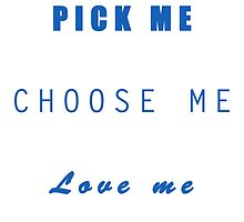 Pick me, choose me, love me - Grey's Anatomy by Mellark90
