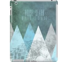 House Stark Poster iPad Case/Skin