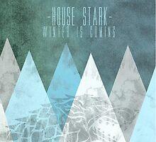 House Stark Poster by zombalex