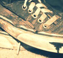 enzo shoes Sticker