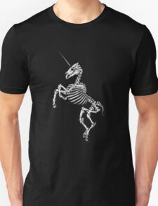 Unicorn Skeleton Unisex T-Shirt