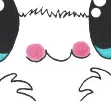 Pom Pom Peppermint Crab Sticker