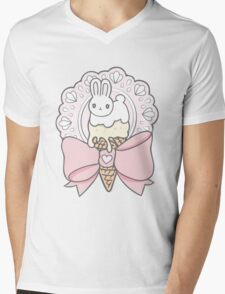 Bunny Treats Mens V-Neck T-Shirt