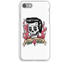 Johnny Cash Skull iPhone Case/Skin