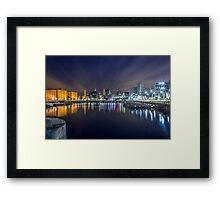Salthouse Dock - Liverpool Framed Print