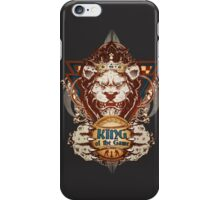 King of the Game iPhone Case/Skin