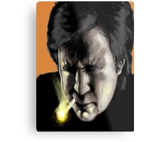 Bill hicks - The Painting Metal Print