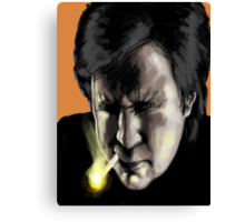 Bill hicks - The Painting Canvas Print