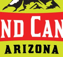 GRAND CANYON NATIONAL PARK ARIZONA MOUNTAINS HIKING CAMPING HIKE CAMP 1919 ADVENTURE 4 Sticker