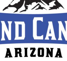 GRAND CANYON NATIONAL PARK ARIZONA MOUNTAINS HIKING CAMPING HIKE CAMP 1919 ADVENTURE 5 Sticker