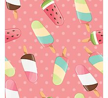 Ice cream 004 Photographic Print