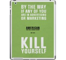 Bill Hicks - By The Way iPad Case/Skin