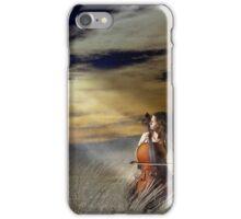 Cello Beach iPhone Case/Skin