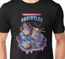 Ninja - Teenage Mutant Ninja Squirtles Unisex T-Shirt