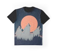 Howling Moon Graphic T-Shirt