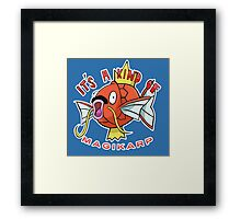 PokéPun - 'It's A Kind Of Magikarp' Framed Print