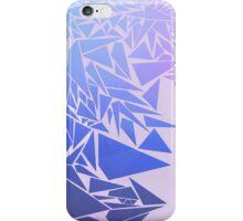 Géométrie bleutée iPhone Case/Skin