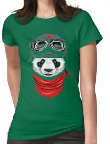 Happy Adventurer Womens Fitted T-Shirt