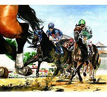 Saratoga Springs NY Racing course Photographic Print