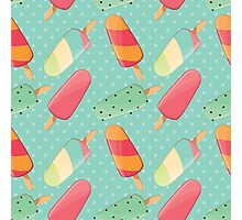 Ice cream 009 Photographic Print