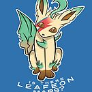 PokéPun - 'Is There Leafeon Mars?' by Alex Clark