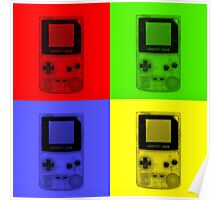 Gameboy Colour-Small Poster