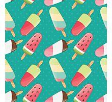 Ice cream 010 Photographic Print