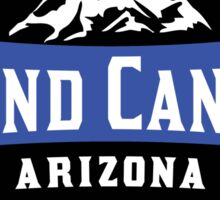 GRAND CANYON NATIONAL PARK ARIZONA MOUNTAINS HIKING CAMPING HIKE CAMP 1919 ADVENTURE 6 Sticker