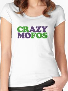 Crazy MOFOS Women's Fitted Scoop T-Shirt