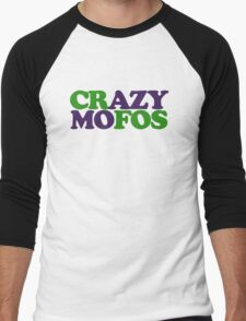 Crazy MOFOS Men's Baseball ¾ T-Shirt