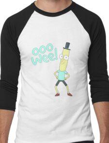 Mr pooptbutthole- Rick and Morty Men's Baseball ¾ T-Shirt