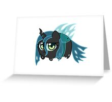 Potato chibi: Queen Chrysalis Greeting Card